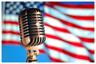 American-flag-microphone